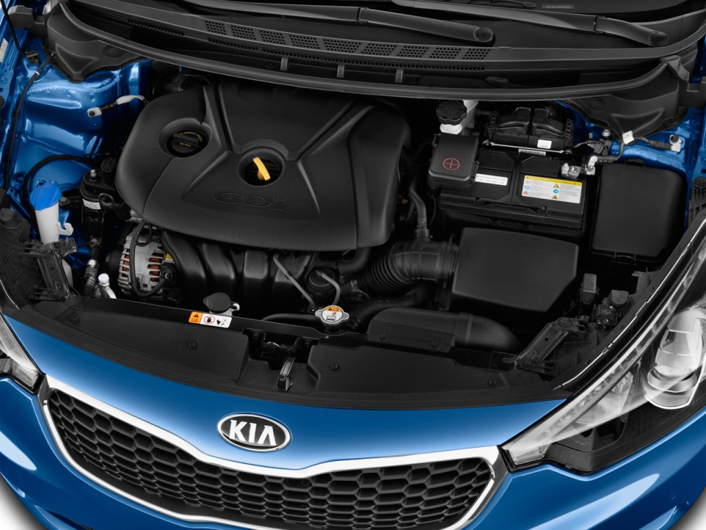 2015 kia forte 4 door sedan auto ex engine