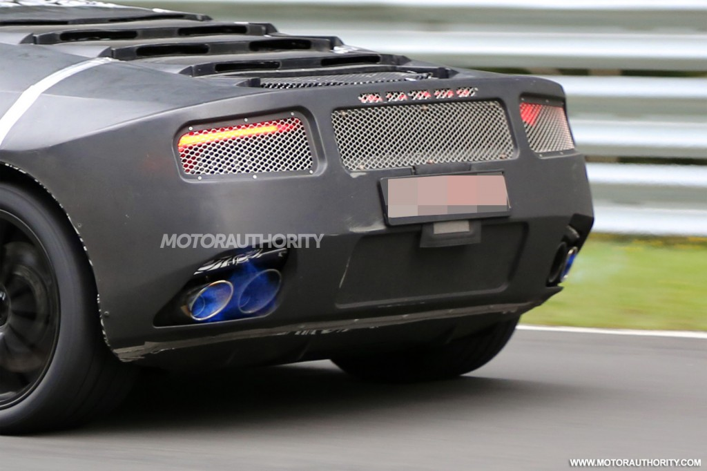 2015 Lamborghini Cabrera (Gallardo Replacement) spy shots