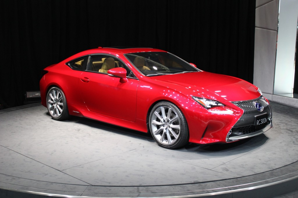 Image 2015 lexus rc coupe 2013 tokyo motor show live for Tokyo motor show lexus