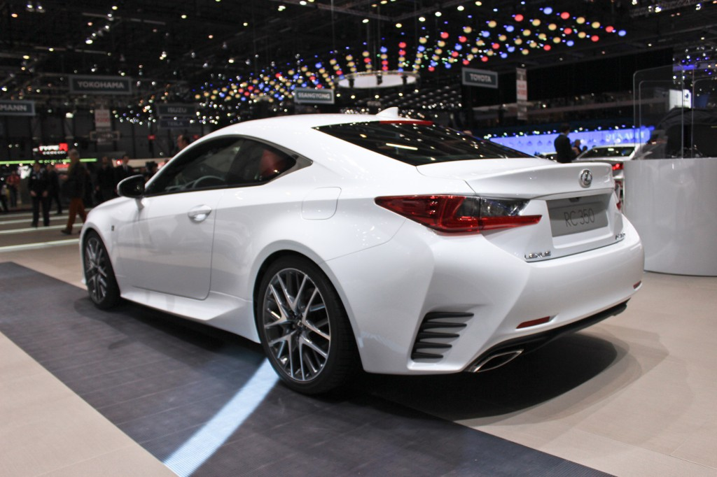 image 2015 lexus rc 350 f sport 2014 geneva motor show size 1024 x 682 type gif posted on. Black Bedroom Furniture Sets. Home Design Ideas