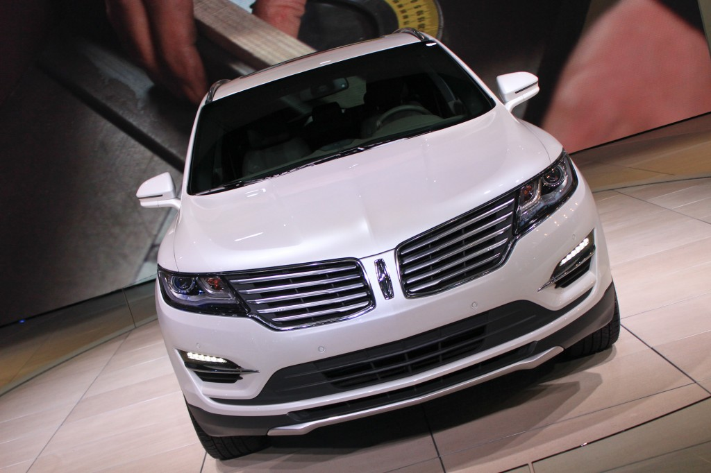 2015 Lincoln MKC, 2013 Los Angeles Auto Show