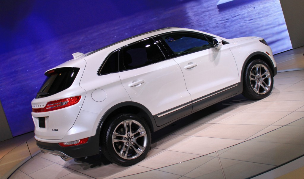 2015 Lincoln MKC, 2013 Los Angeles Auto Show