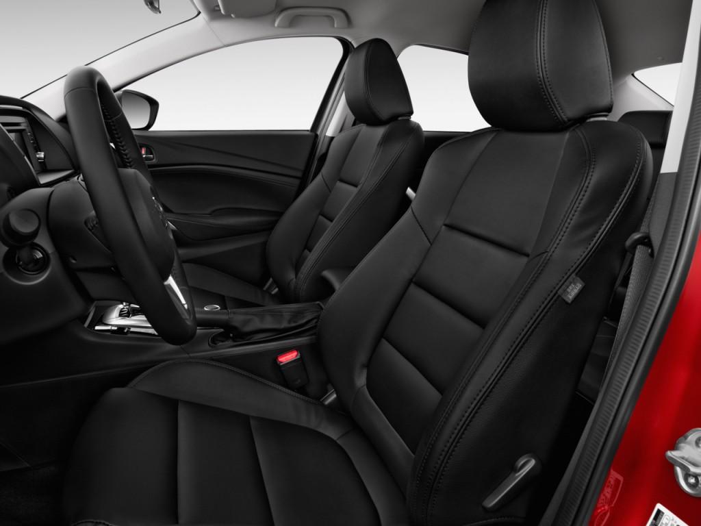 Image 2015 Mazda Mazda6 4 Door Sedan Auto I Touring Front Seats Size 1024 X 768 Type Gif