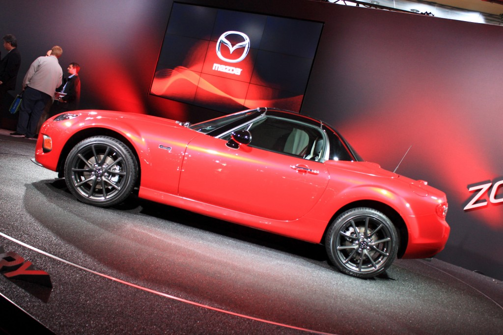 2015 Mazda MX-5 Miata 25th Anniversary Edition, 2014 New York Auto Show