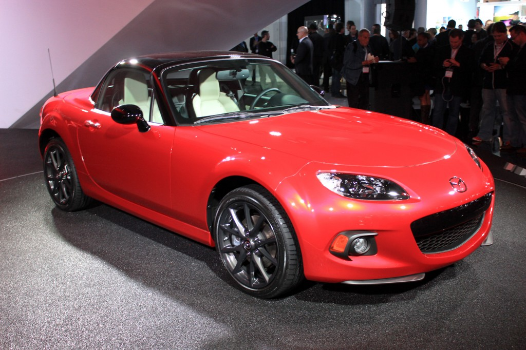 mazda mx-5 25th anniversary (2014)