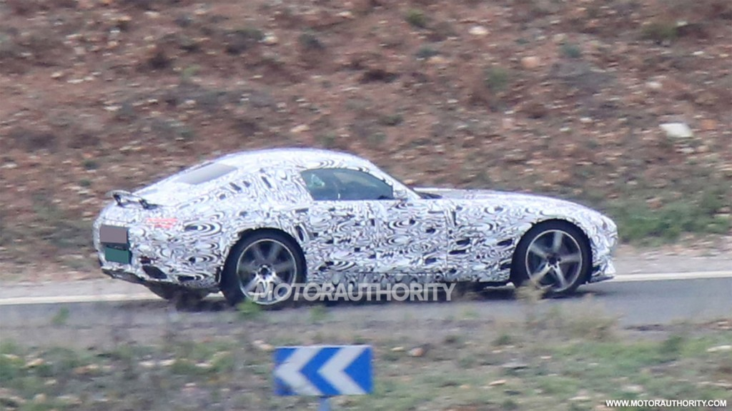2016 Mercedes-AMG GT spy shots
