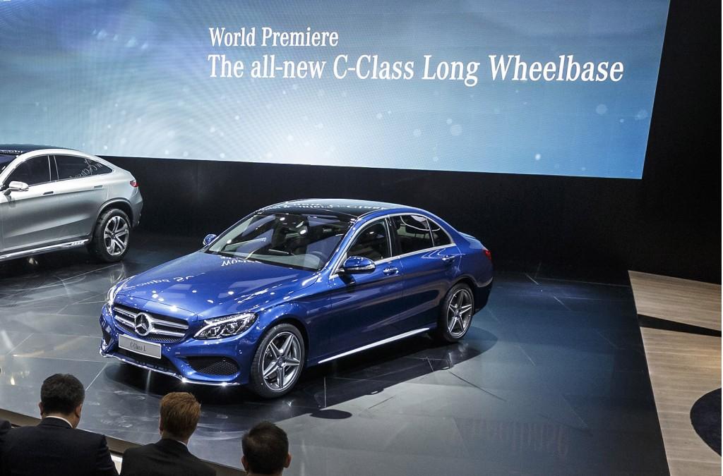 2015 Mercedes-Benz C-Class L, 2014 Beijing Auto Show