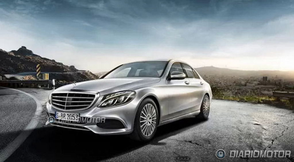 2015 Mercedes-Benz C-Class leaked - Image via Diariomotor