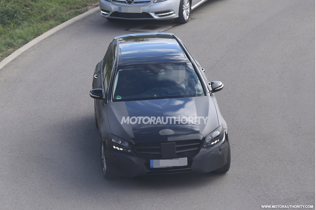 2015 Mercedes-Benz C-Class Estate (wagon) spy shots