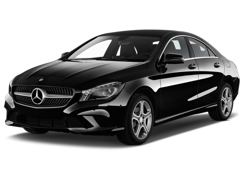 Image 2015 mercedes benz cla class 4 door sedan cla250 for Mercedes benz 4 door