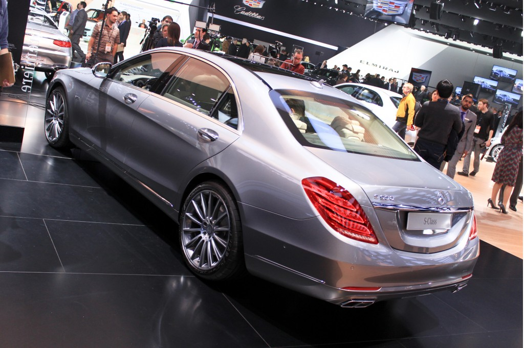 Image 2015 mercedes benz s600 live photos 2014 detroit for Mercedes benz s600 2015