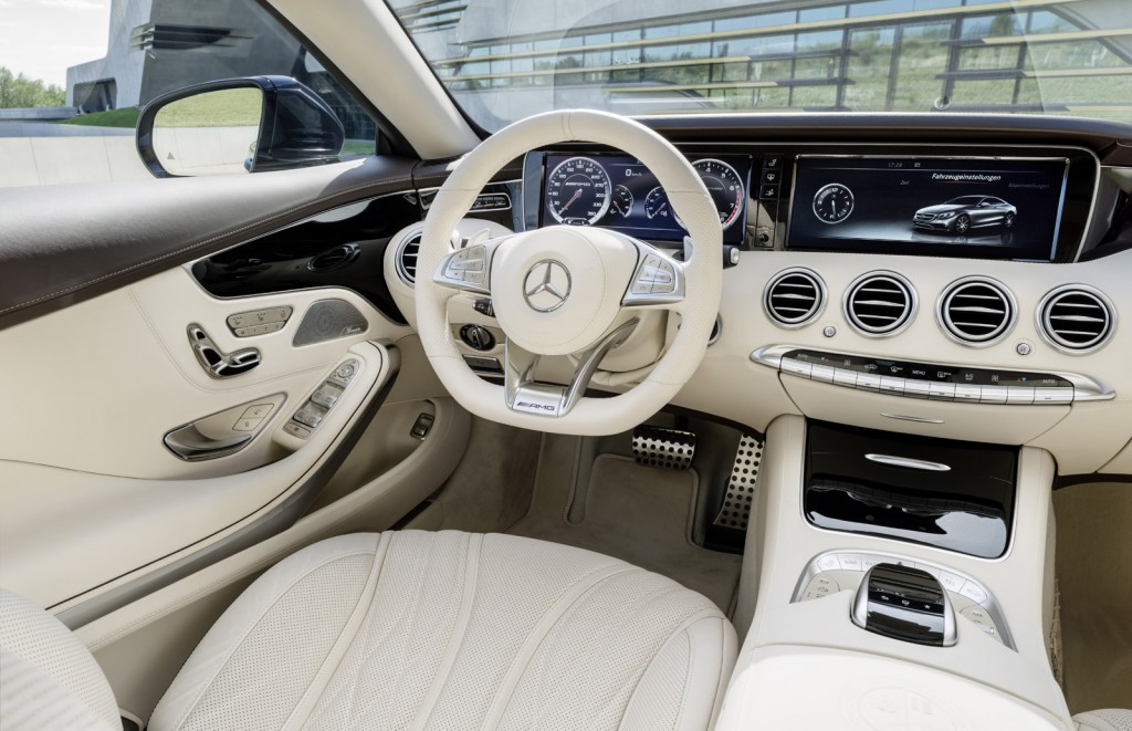 2015 Mercedes-Benz S65 AMG Coupe