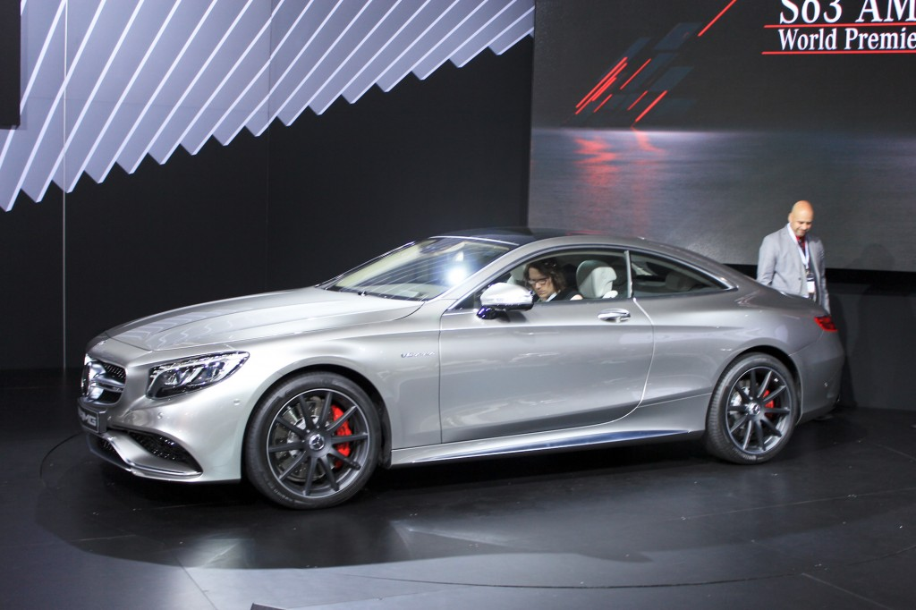 2015 MercedesBenz S63 AMG Coupe 2014 New York Auto Show Live Photos