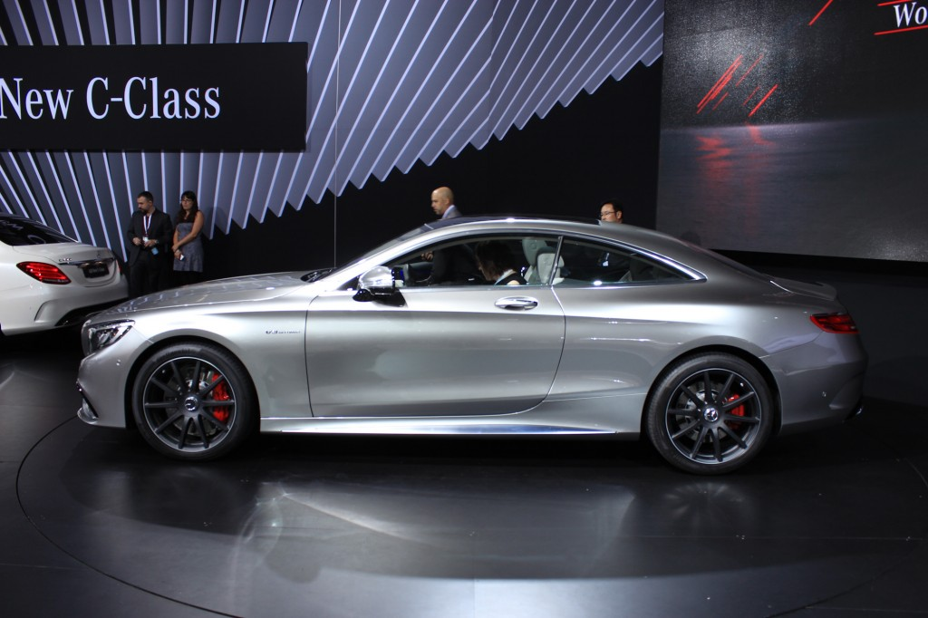 Image 2015 mercedes benz s63 amg coupe 2014 new york for Mercedes benz s63 2014 price