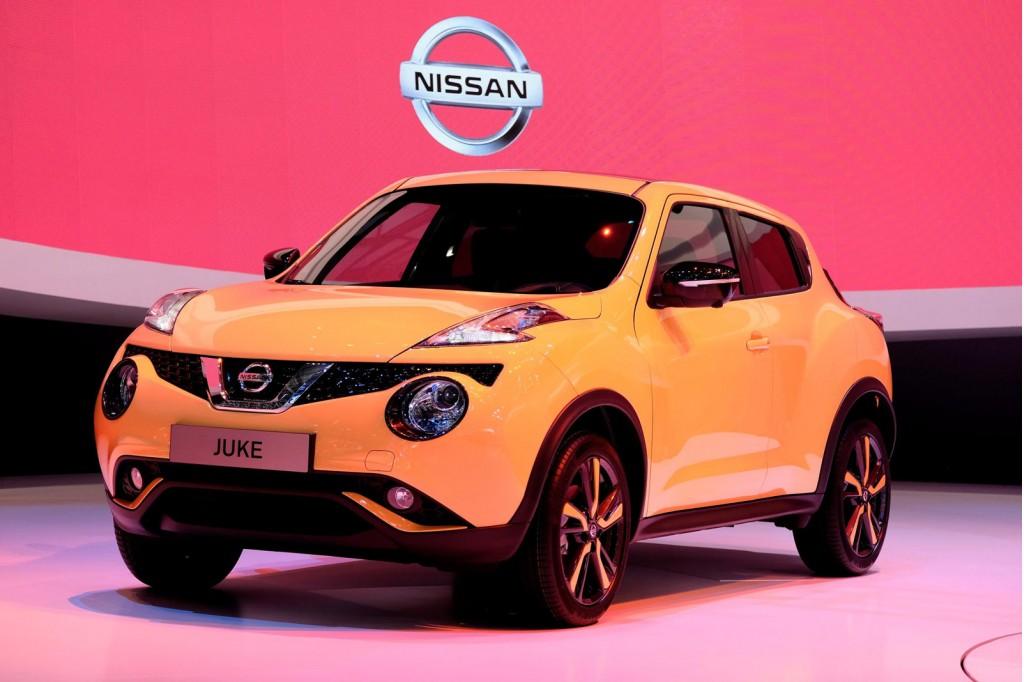 2015 Nissan Juke (European spec)