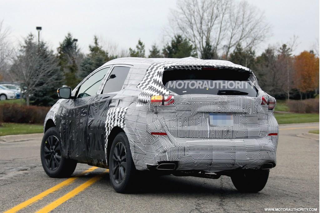 2015 Nissan Murano spy shots