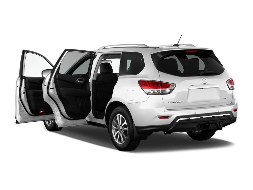 Image 2015 Nissan Pathfinder 4wd 4 Door Sl Open Doors