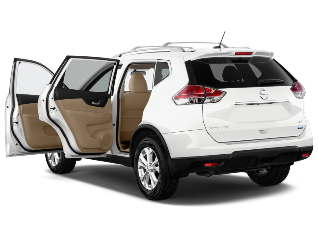 image 2015 nissan rogue fwd 4 door sv open doors size. Black Bedroom Furniture Sets. Home Design Ideas