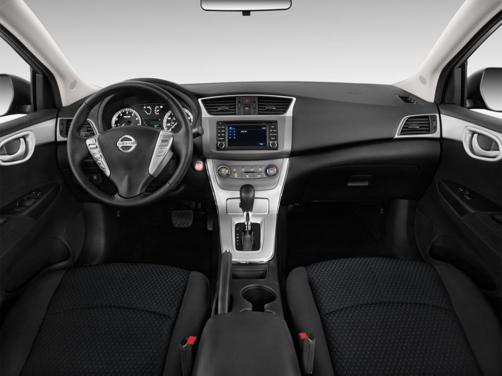 Image 2015 Nissan Sentra 4 Door Sedan I4 Cvt Sr Dashboard Size 1024 X 768 Type Gif Posted