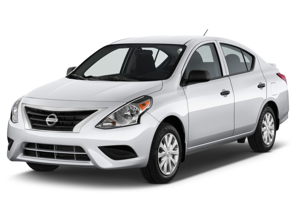Image 2015 Nissan Versa 4 Door Sedan Cvt 1 6 Sv Angular