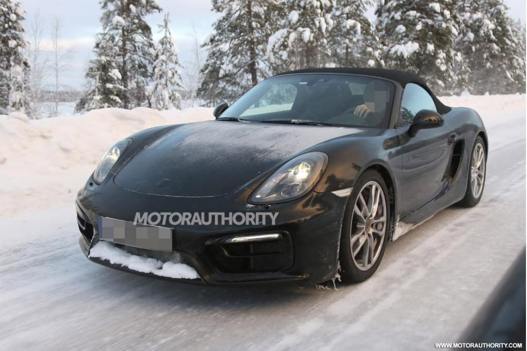 2015 Porsche Boxster GTS spy shots