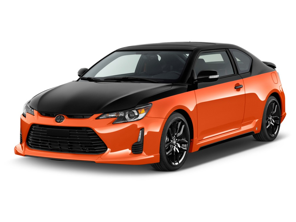 image 2015 scion tc 2 door hb man release series natl angular front exterior view size 1024. Black Bedroom Furniture Sets. Home Design Ideas
