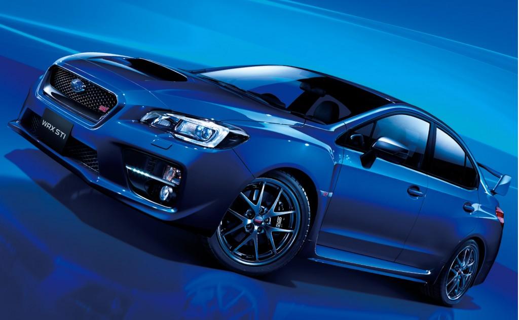 2015 Subaru WRX STI Type S (Japanese spec)