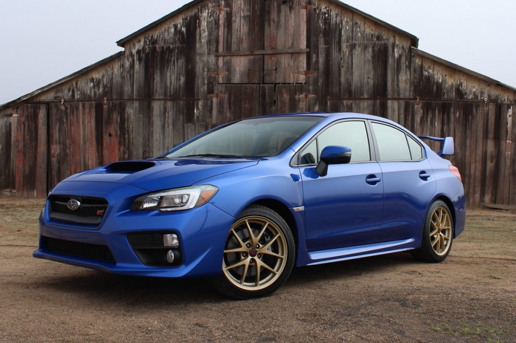 2015 Subaru WRX STI  -  First Drive  -  February 2014