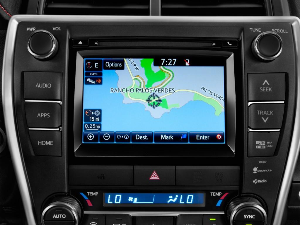 image 2015 toyota camry 4 door sedan i4 auto se natl audio system size 1. Black Bedroom Furniture Sets. Home Design Ideas