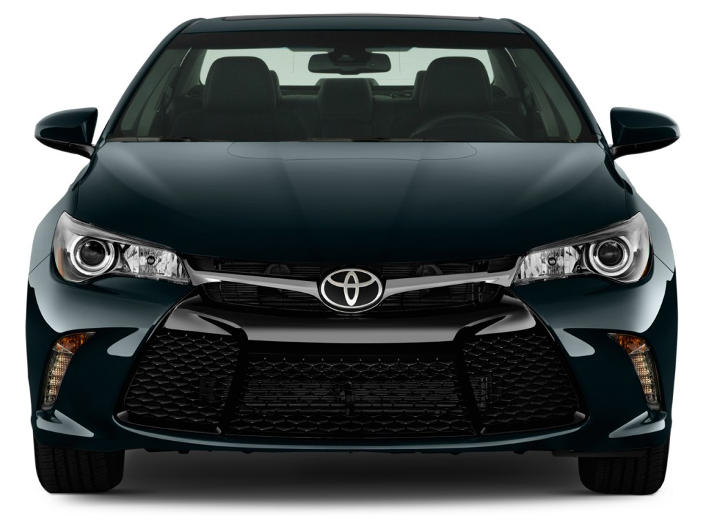 Image: 2015 Toyota Camry 4-door Sedan I4 Auto SE (Natl) Front Exterior View, size: 1024 x 768 ...