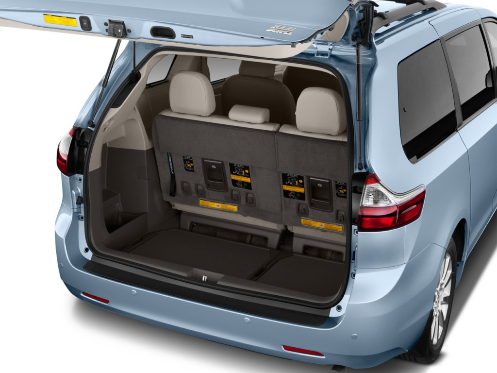 image 2015 toyota sienna 5dr 8 pass van xle fwd natl trunk size 1024 x 768 type gif. Black Bedroom Furniture Sets. Home Design Ideas