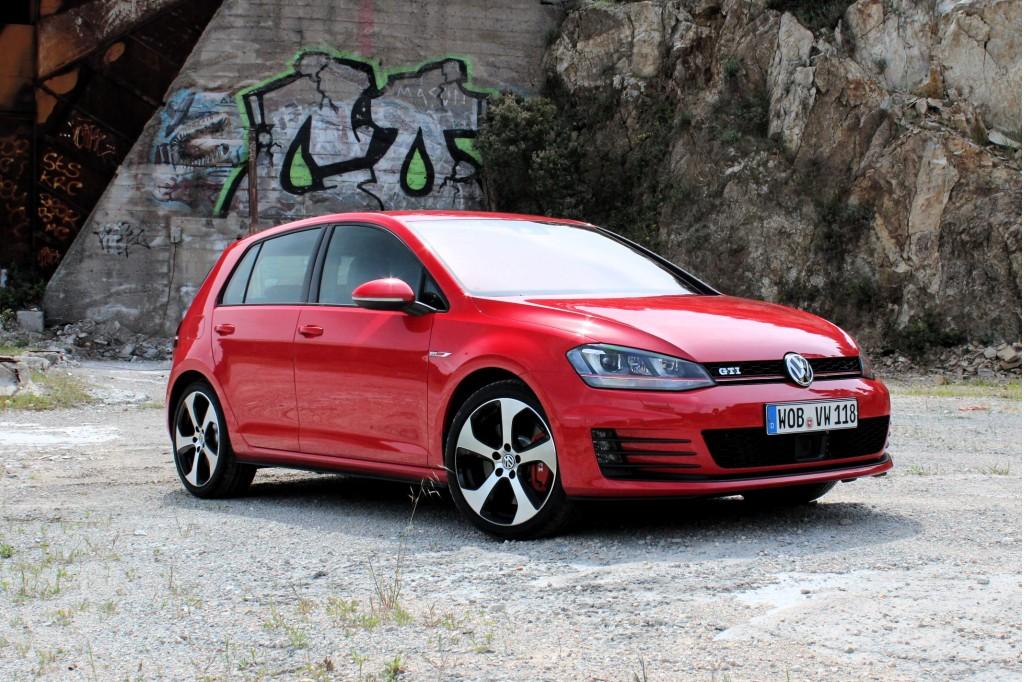 2015 Volkswagen GTI (Euro spec)  -  Preview Drive, April 2013