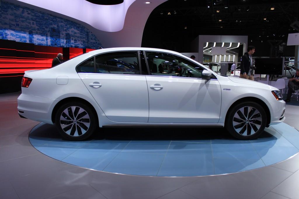2015 Volkswagen Jetta Hybrid, 2014 New York Auto Show