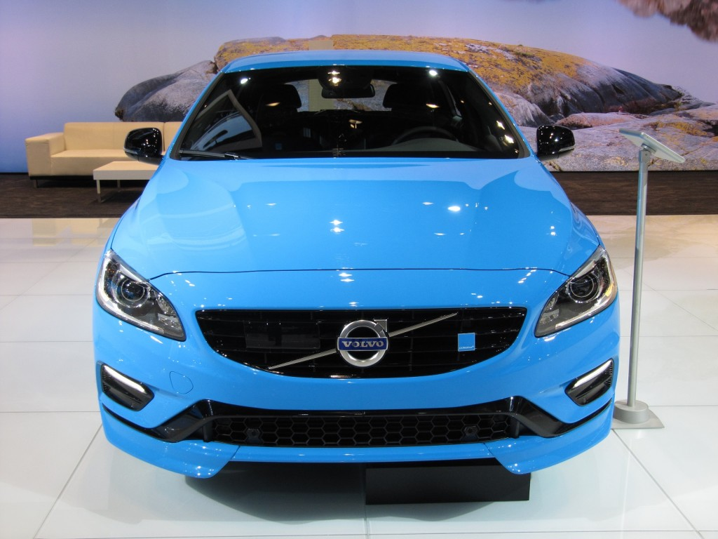 2015 Volvo V60 Polestar at 2014 Chicago Auto Show