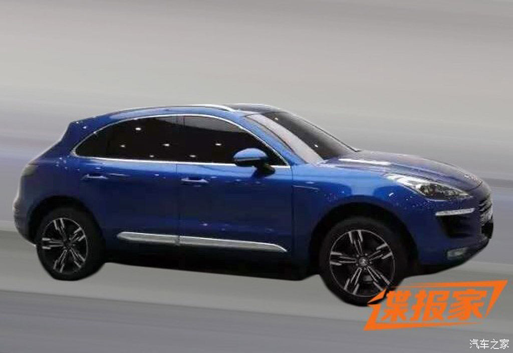 China's Zotye Auto copies the Porsche Macan