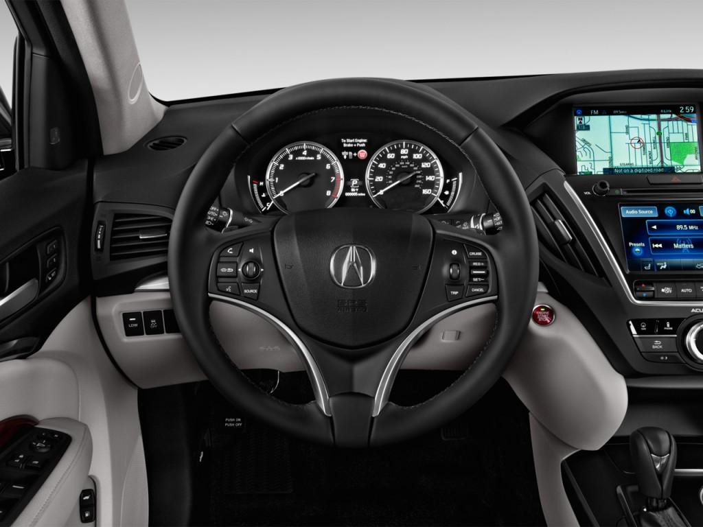 Image: 2016 Acura MDX FWD 4-door w/Tech Steering Wheel ...