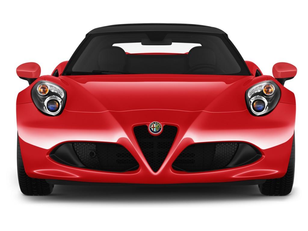 Image: 2016 Alfa Romeo 4C 2-door Convertible Spider Front ...