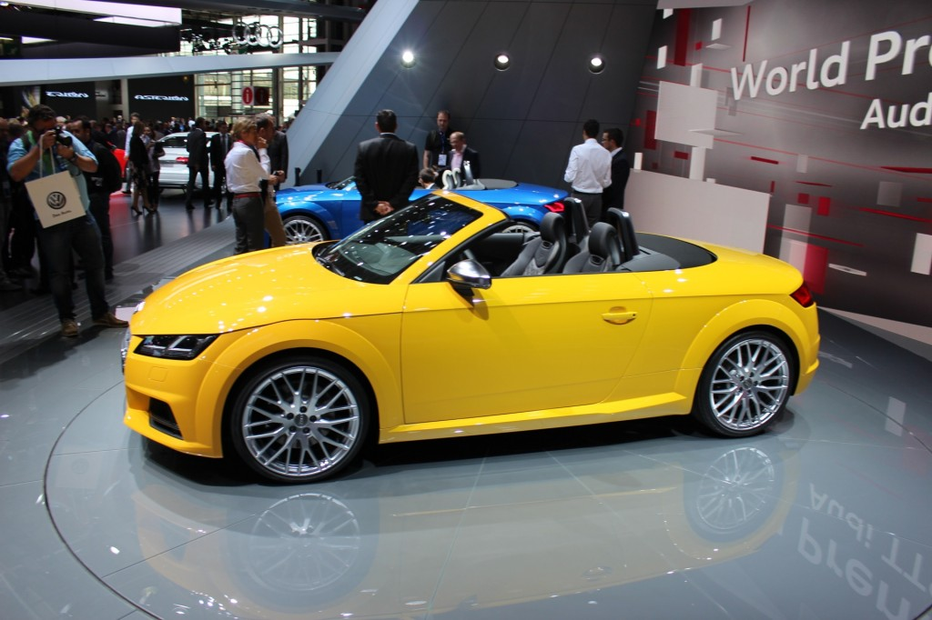 image 2016 audi tts roadster 2014 paris auto show size 1024 x 682 type gif posted on. Black Bedroom Furniture Sets. Home Design Ideas