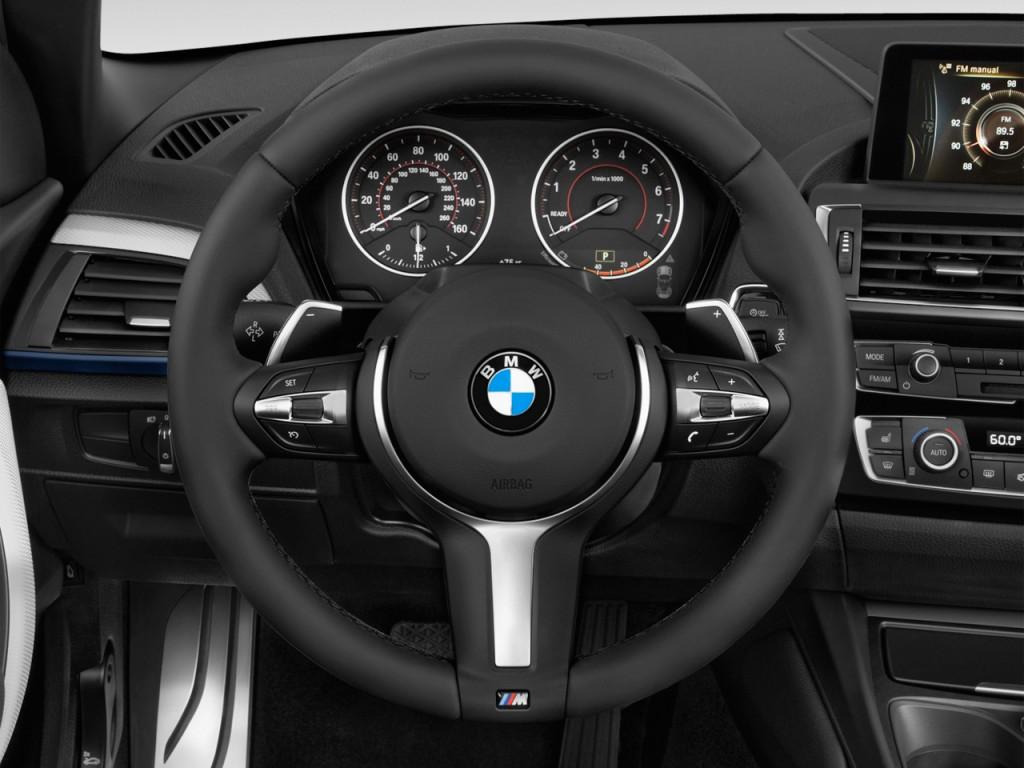 Image 2016 Bmw 2 Series 2 Door Convertible M235i Rwd Steering Wheel Size 1024 X 768 Type