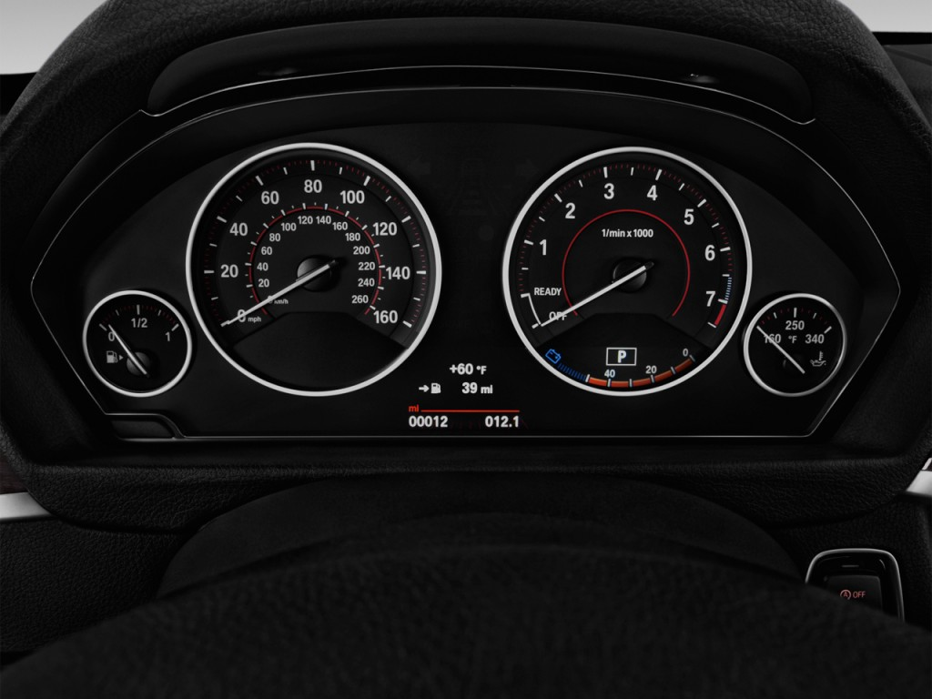 Image 2016 Bmw 3 Series 4 Door Sedan 328i Rwd Instrument Cluster Size 1024 X 768 Type Gif