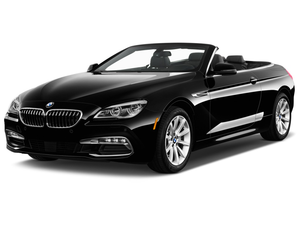 Image 2016 Bmw 6 Series 2 Door Convertible 640i Rwd Angular Front Exterior View Size 1024 X