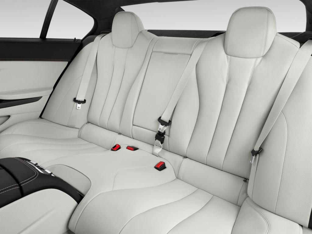 Image 2016 Bmw 6 Series 4 Door Sedan 640i Rwd Gran Coupe Rear Seats Size 1024 X 768 Type