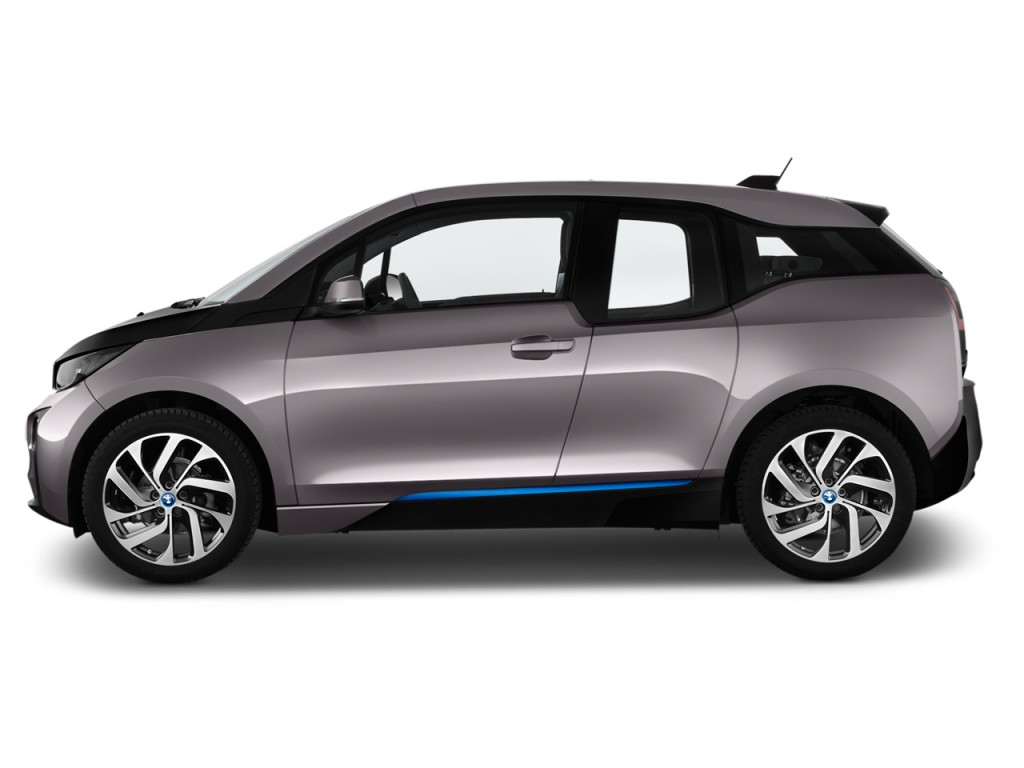 Image: 2016 BMW i3 4-door HB Side Exterior View, size ...