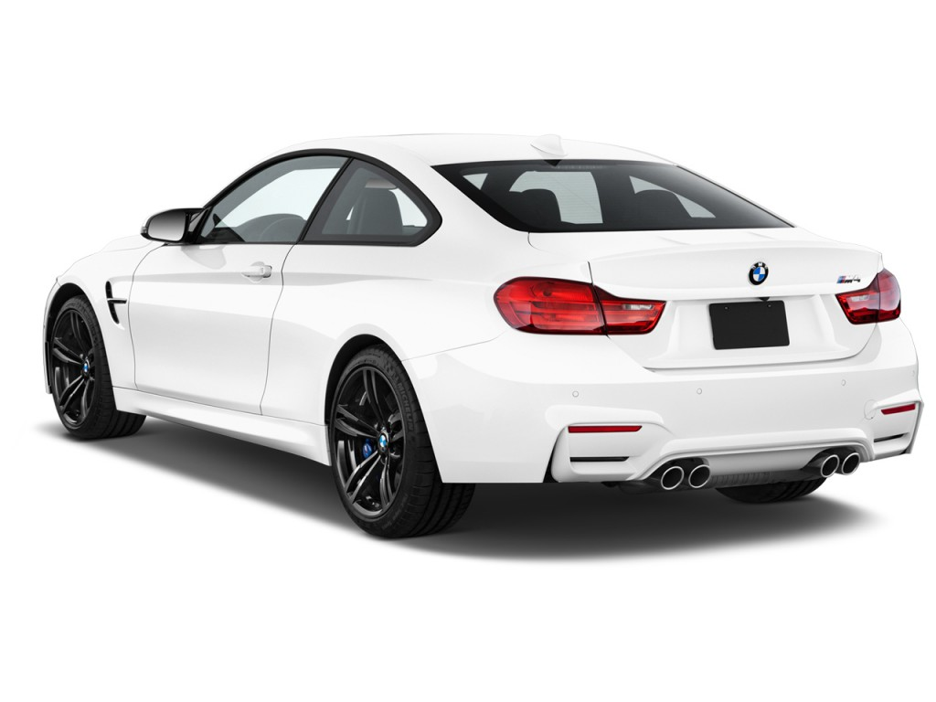 Image 2016 Bmw M4 2 Door Coupe Angular Rear Exterior View