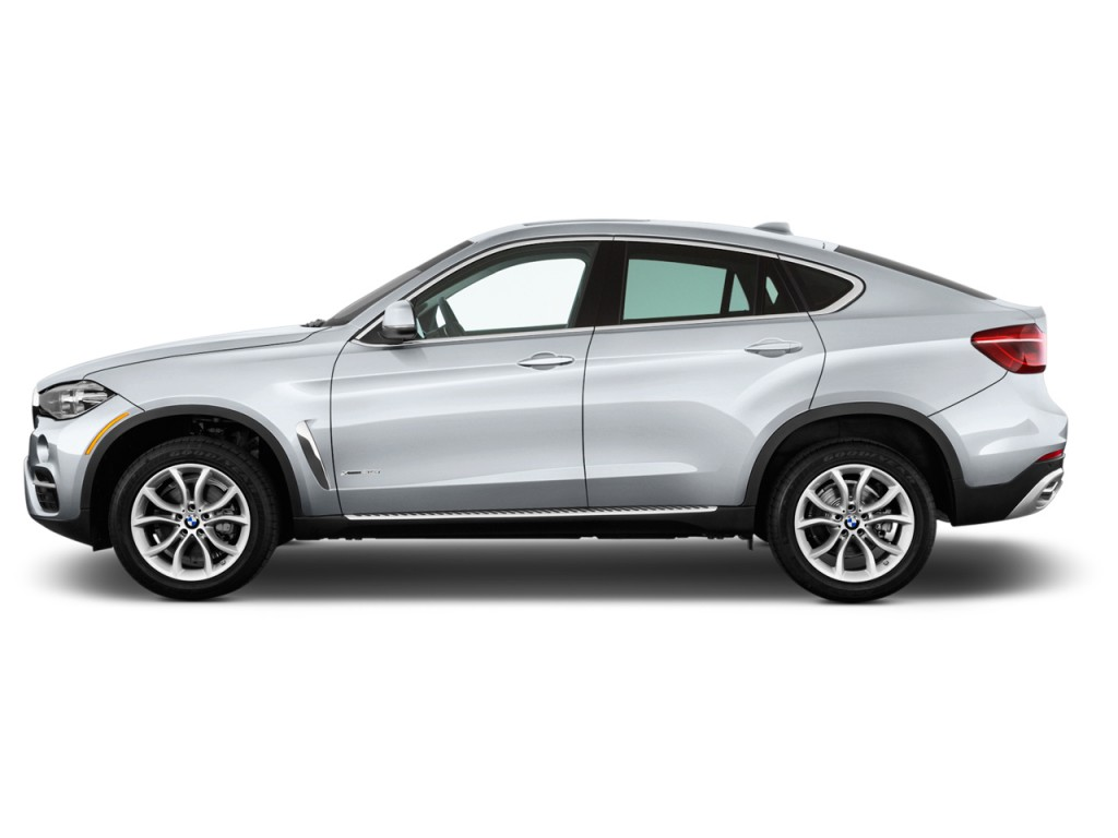 Image 2016 Bmw X6 Rwd 4 Door Sdrive35i Side Exterior View