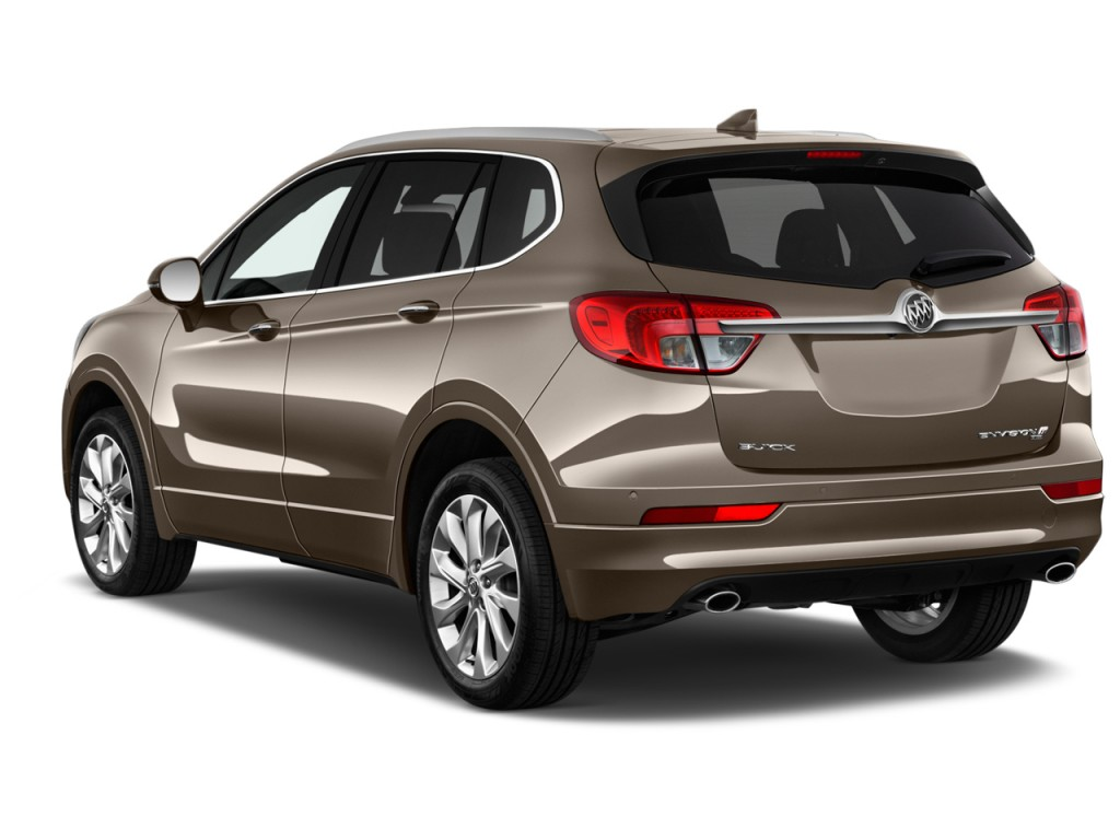 image 2016 buick envision awd 4 door premium ii angular rear exterior view size 1024 x 768. Black Bedroom Furniture Sets. Home Design Ideas