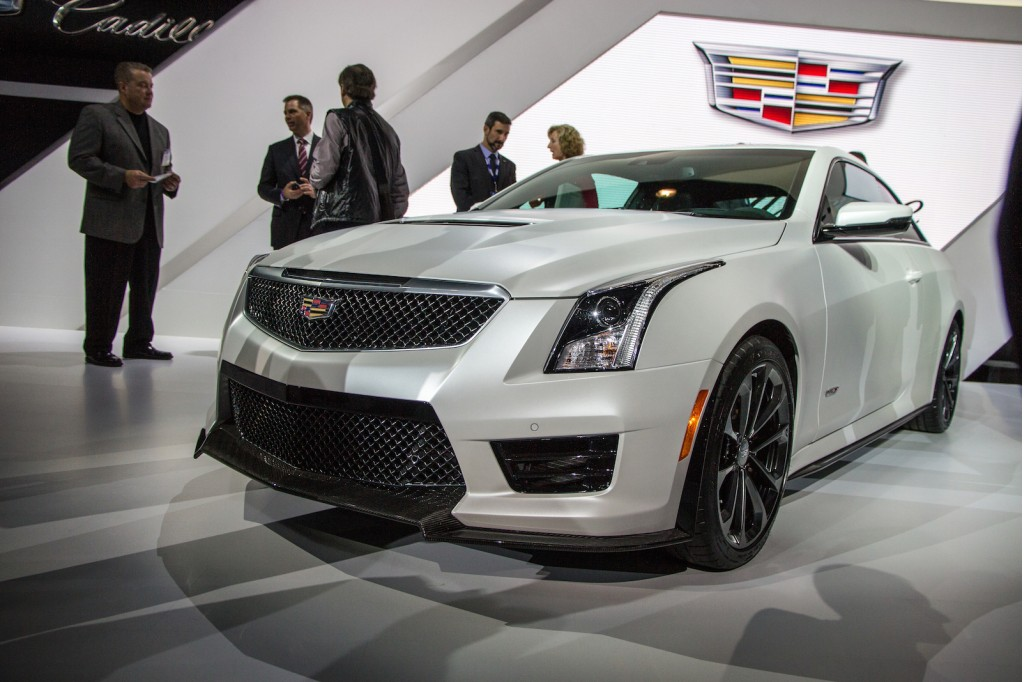 image 2016 cadillac ats v coupe 2014 los angeles auto. Black Bedroom Furniture Sets. Home Design Ideas