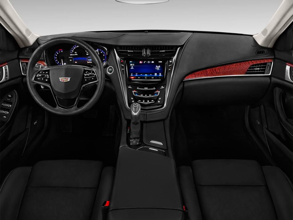 Image: 2016 Cadillac CTS 4-door Sedan 3.6L Luxury ...