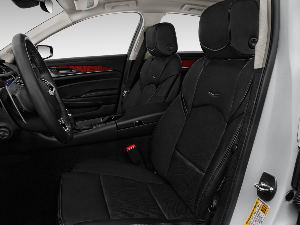 image 2016 cadillac cts 4 door sedan 3 6l luxury collection rwd front seats size 1024 x 768. Black Bedroom Furniture Sets. Home Design Ideas