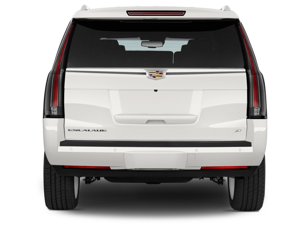 Image 2016 Cadillac Escalade 4wd 4 Door Platinum Rear Exterior View Size 1024 X 768 Type